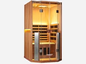 Detoxing infrared sauna